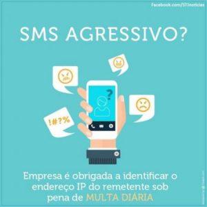 sms agressivo - imagem
