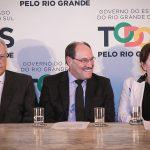 21/11/2016 - PORTO ALEGRE, RS - Governador Sartori anuncia em coletiva pacote de extinção de 9 fundações, como tve, fee e corag, além de cortes em diversas outras areas. Foto: Guilherme Santos/Sul21